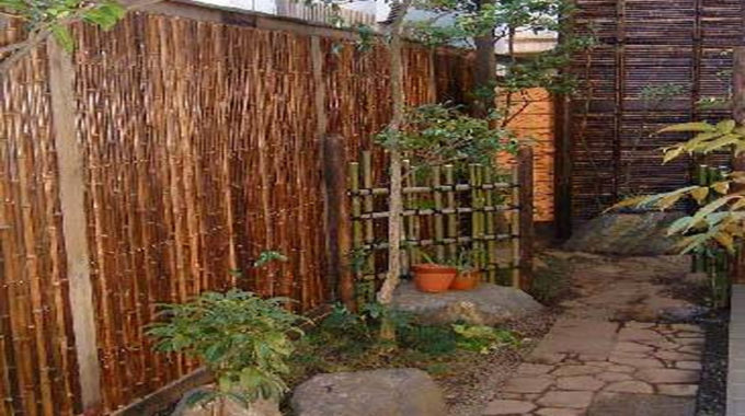 Garden Design and style Hiding An Ugly Wall On A Shoestring