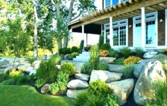 Front Yard Landscape And Home Improvement