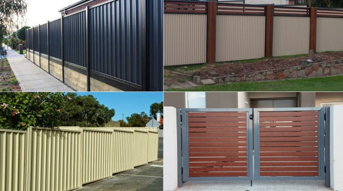 Benefits of Color Bond Fencing