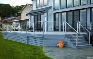 Cable Railings to get a Contemporary Dwelling