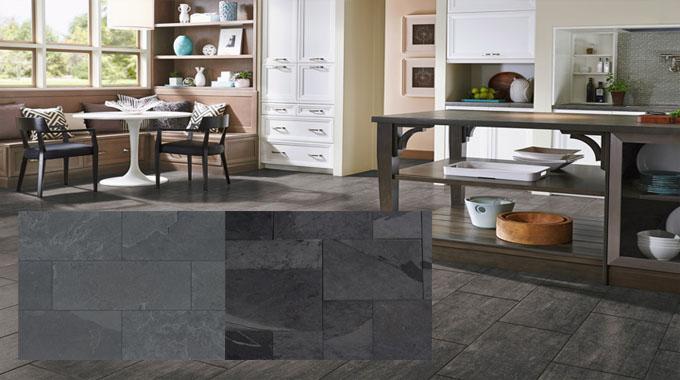 For a Complete Floor, Go For Slate Tile Flooring