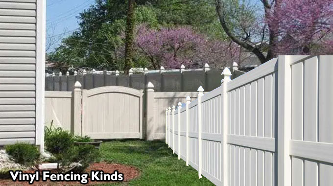 Vinyl Fencing Kinds